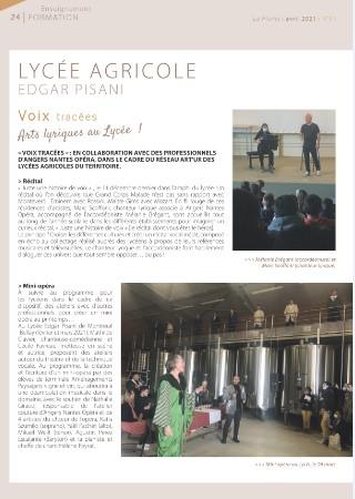 La plume: publication de la ville de Montreuil-Bellay